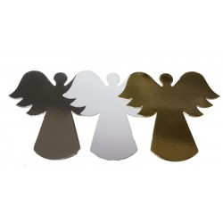 Christmas Angels Die Cut Shapes - White
