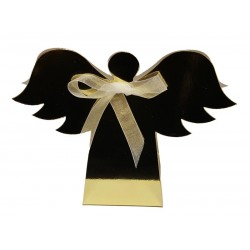 Christmas Angel Favour Boxes - Pack of 10 (Choose Colour)