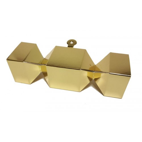 Christmas Cracker Favour Boxes - Pack of 10 (Choose Colour)