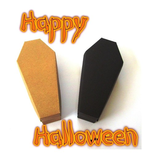 Halloween Coffin Boxes- Pack of 10