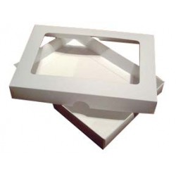 A5 White Aperture Card Box With Acetate