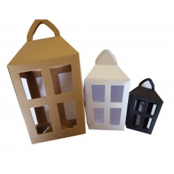Medium Lantern Boxes - 2 Packs of 5 - Choose 2 Colours