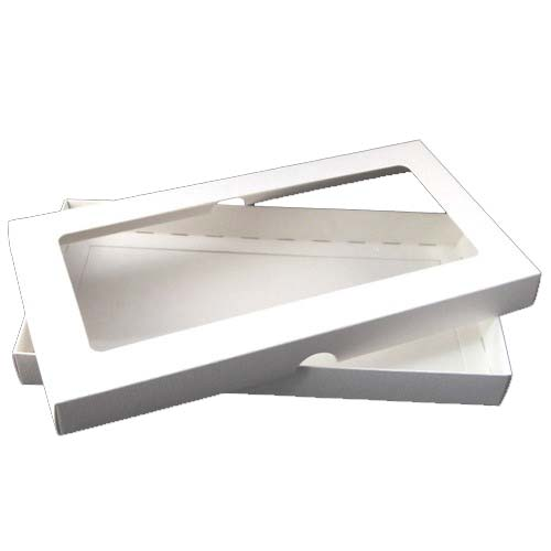 DL White Aperture Card Box With Acetate
