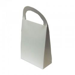 White Gift Bag with Handle