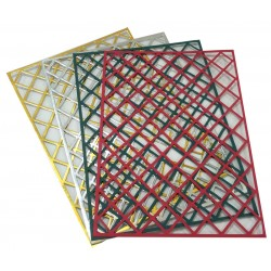 A4 Mixed Diamond Trellis Card Pack 3 - Essential Crafts