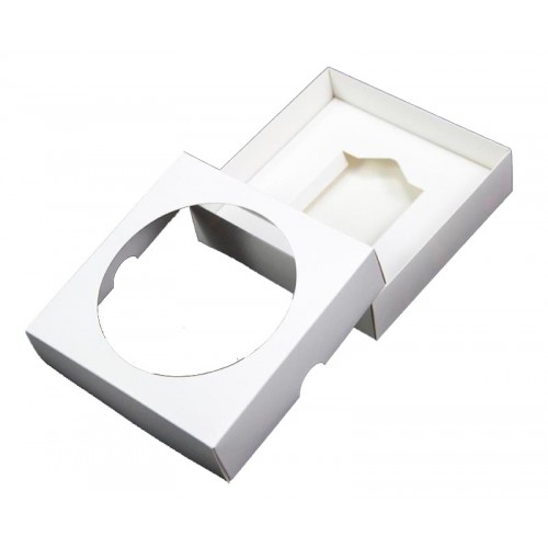 White CD Clock Boxes