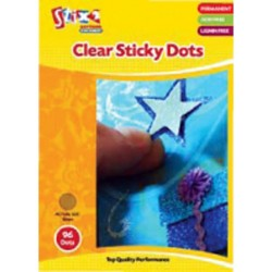 Stix 2 - Clear Sticky Dots - 96 Dots