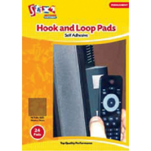 Stix 2 - Hook and Loop Pads - 24 Pads