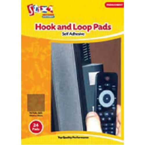 Stix 2 - Hook and Loop Pads - 24 Pads