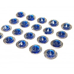 Amalfi Royal Blue Mini Crystals 12mm - Pack of 40