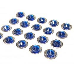 Amalfi Royal Blue Mini Crystals 12mm - Pack of 40