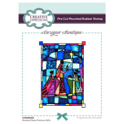 Creative Expressions Designer Boutique Collection Precious Gifts Pre Cut Stamp