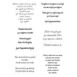 Easy Peel Self Adhesive Welsh Sympathy Verses 3 by Essential Crafts