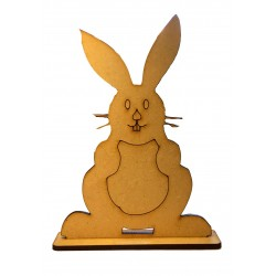Easter Bunny Wooden Shape
