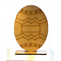 Easter Egg Wooden Shape