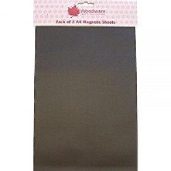 Woodware A4 Magnetic Sheets Pack of 2