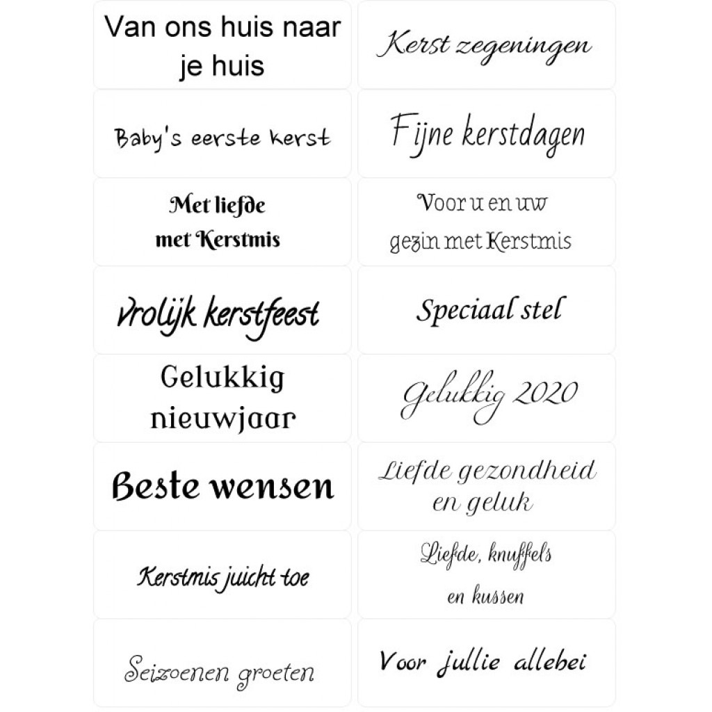 Christmas Sentiments For Cards.Easy Peel Self Adhesive Dutch Christmas Sentiments 3 By Essential Crafts