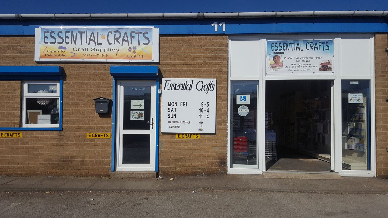Essential Crafts Shop Front