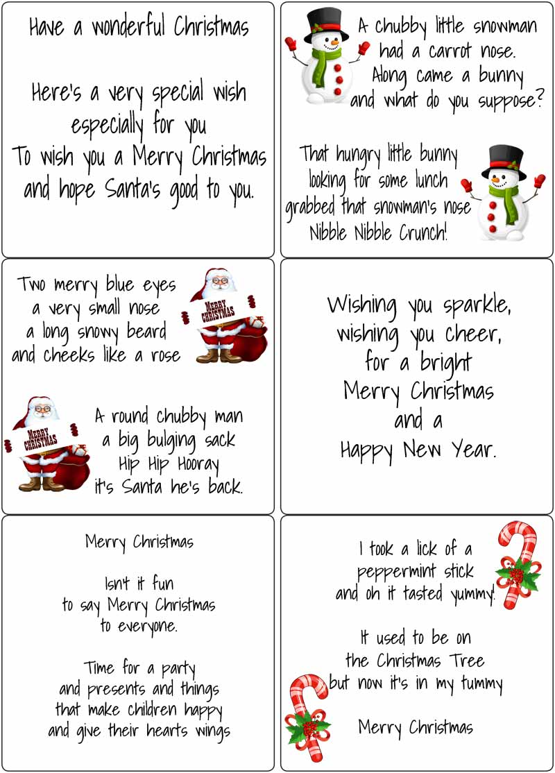 peel off kids christmas verses  sticky verses for